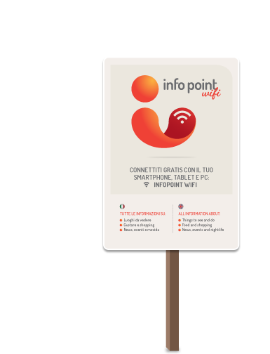 Find the InfoPoint WiFi signs in your city